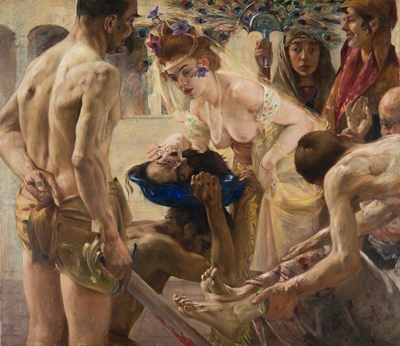 Lovis Corinth (1858–1925): Salome II 1899/1900 Öl auf Leinwand, 127 x 147 cm Museum der bildenden Künste Leipzig, Leipzig Foto: Museum der bildenden Künste, Leipzig