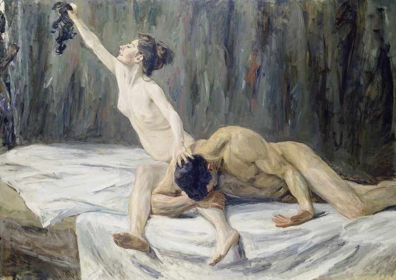 Max Liebermann (1847–1935): Simson und Delila 1902 Öl auf Leinwand, 151,2 x 212 cm Städel Museum, Frankfurt am Main Foto: Städel Museum – ARTOTHEK