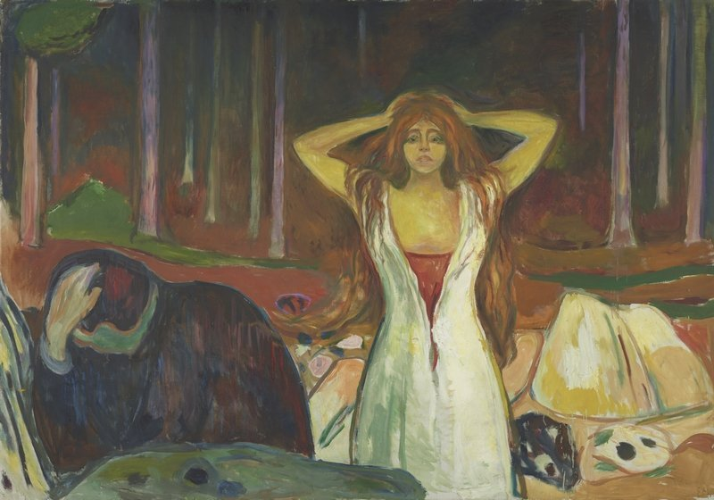 Edvard Munch (1863–1944): Asche 1925 Öl auf Leinwand, 139,5 x 200 cm Munch Museum, Oslo Foto: Munch Museum