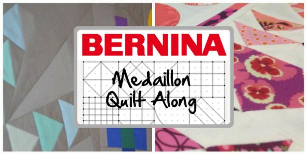 Bernina Medaillon Quilt Along