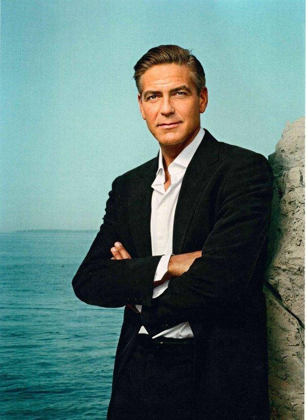 Martin Schoeller – George Clooney Cannes, 2007 Digitaler C-Print, 70 x 50 cm Martin Schoeller Courtesy der Künstler