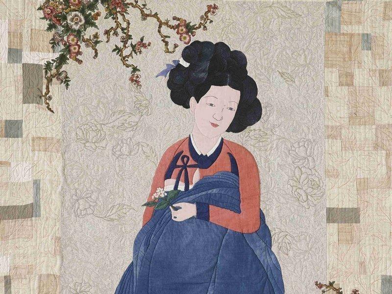 HyeonJoo Shin: Miin-Do (Beautiful Lady), Detail Foto freundlicherweise von Jana Sterbova zur Verfügung gestellt
