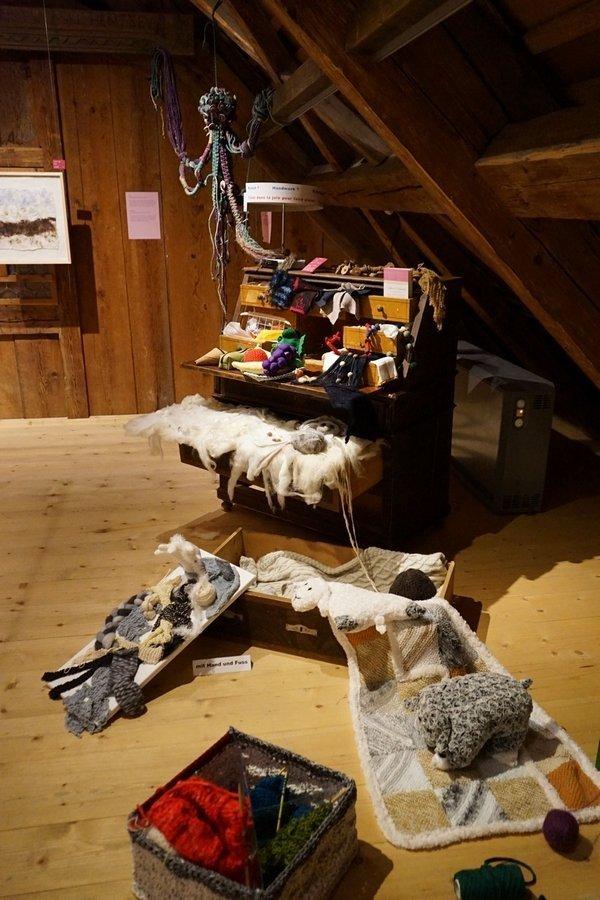 Antonia Scheuwly, Lilo Käser, Ruth Kuchen: Schubladisiert? Foto freundlicherweise vom Museum zur Verfügung gestellt