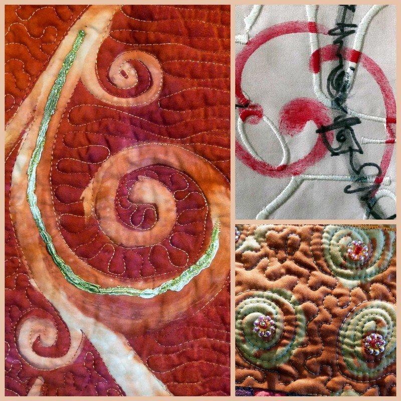 Arbeiten von Pia Welsch, Details Foto freundlicherweise von Pia Welsch zur Verfügung gestellt