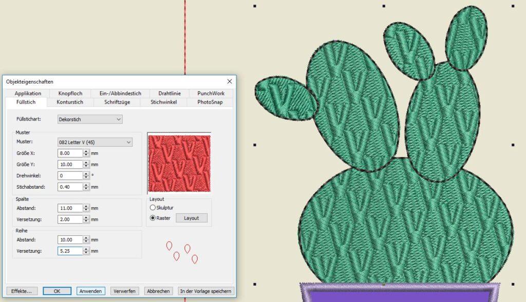 Kaktus 1 Dekorstich V