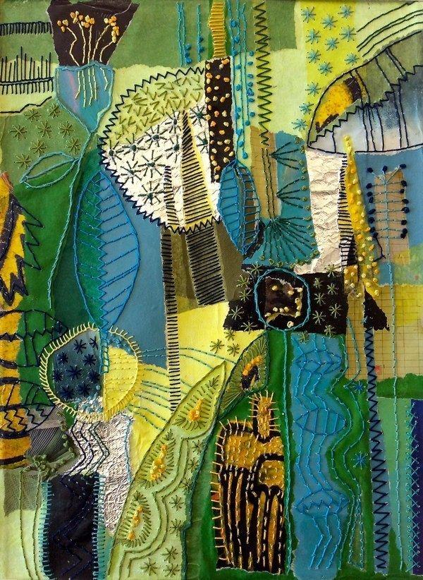 Annette Pfister: jardin estival, Detail Foto freundlicherweise vom Veranstalter TAFch zur Verfügung gestellt