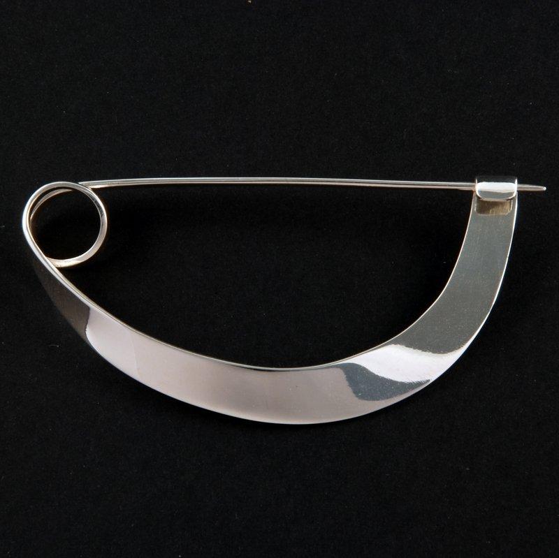 Kristin Urup (Dänemark): Fibel Silber Foto freundlicherweise vom Museum zur Verfügung gestellt