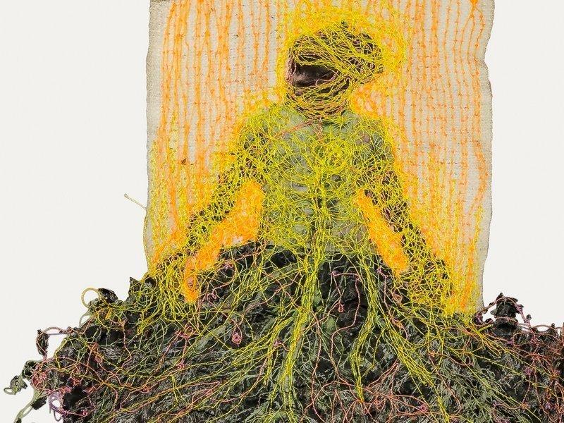 Katrin Mosimann: Kraft, Detail Foto freundlicherweise von der Galerie zur verfügung gestellt