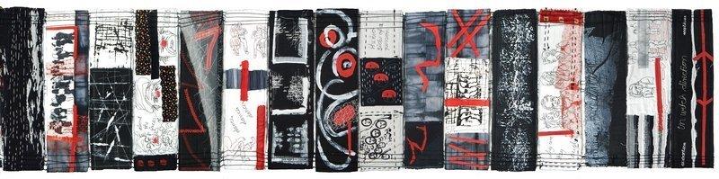 Brigitte Kopp: Tagebuch eines Unentschlossenen, Detail Foto: Brigitte Kopp