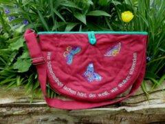 Nähanleitung Schmetterlingstasche