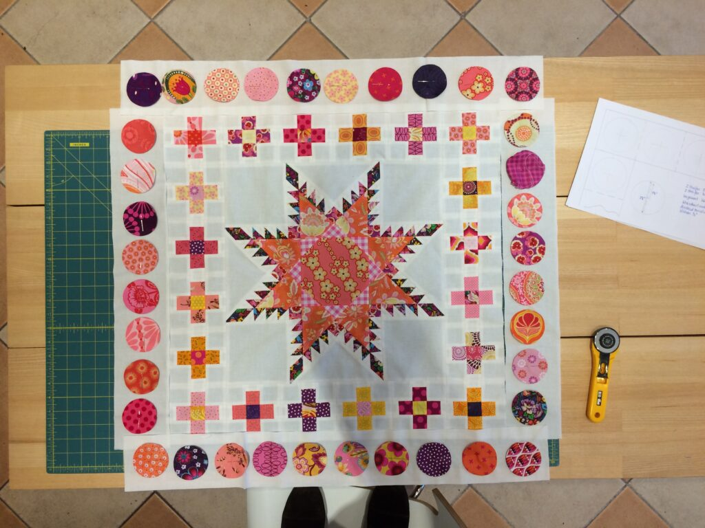 Quiltmanufaktur - BERNINA Medaillon - Kreise 11