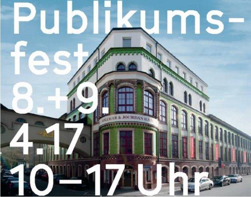 Plakat Technisches Museum, Aussenansicht Foto: Petra Jaschke