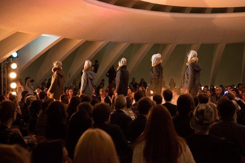 Un-Dressed Fashionshow Foto freundlicherweise vom Veranstalter oikos St. Gallen zur Verfügung gestellt.