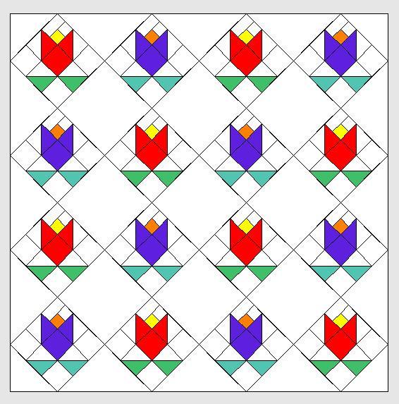 Nähanleitung für Neunerblöcke in inch und cm ohne Schablonen