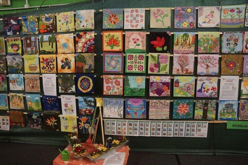 Internationale Ausstellung der Patch-Kids mit dem Thema 'Mein Garten'