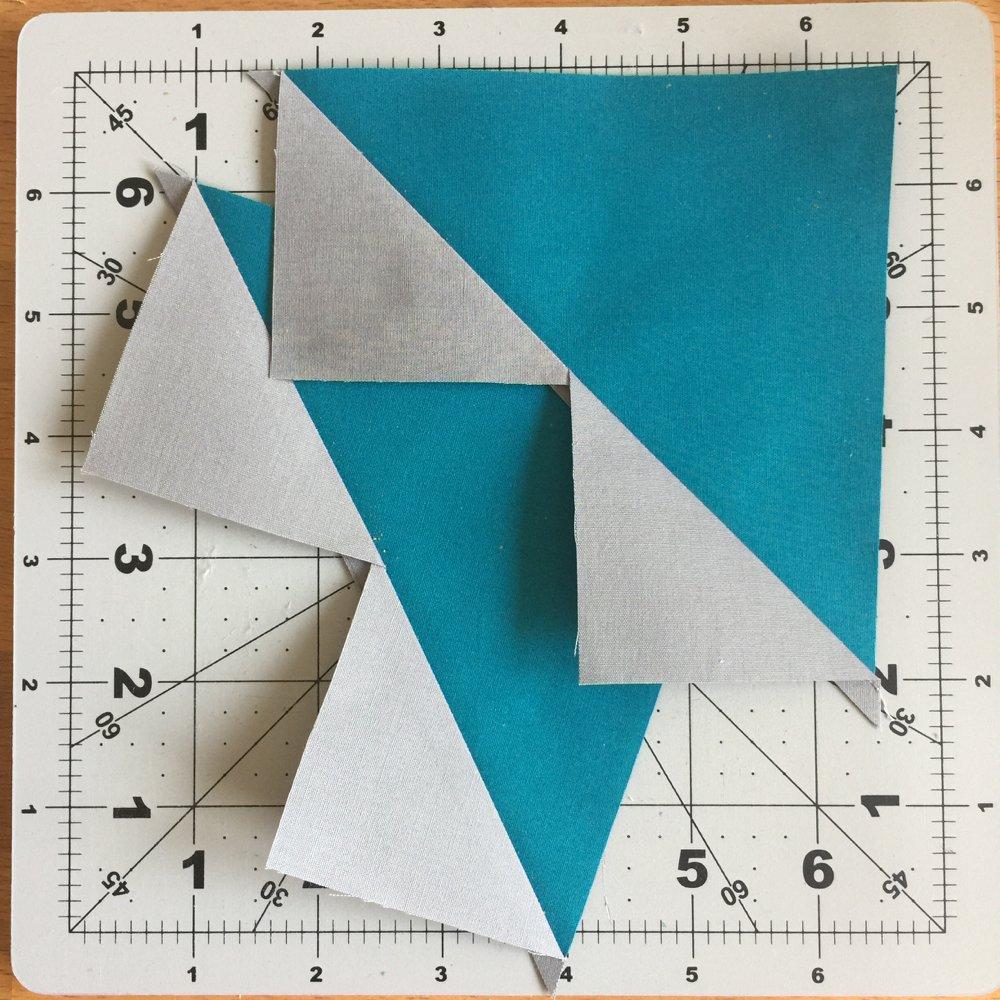 Dreiecke ausbuegeln