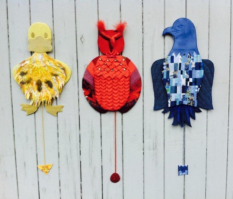 Ulla Hoppe: Floras Hampelvögel Foto freundlicherweise von Ulla Hoppe zur Verfügung gestellt