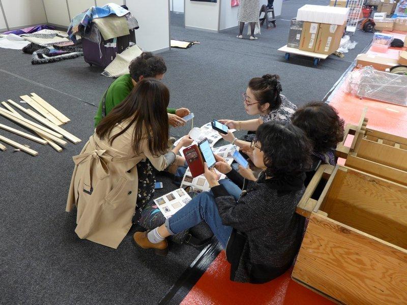 Gäste aus Südkorea nutzen das technische Know How