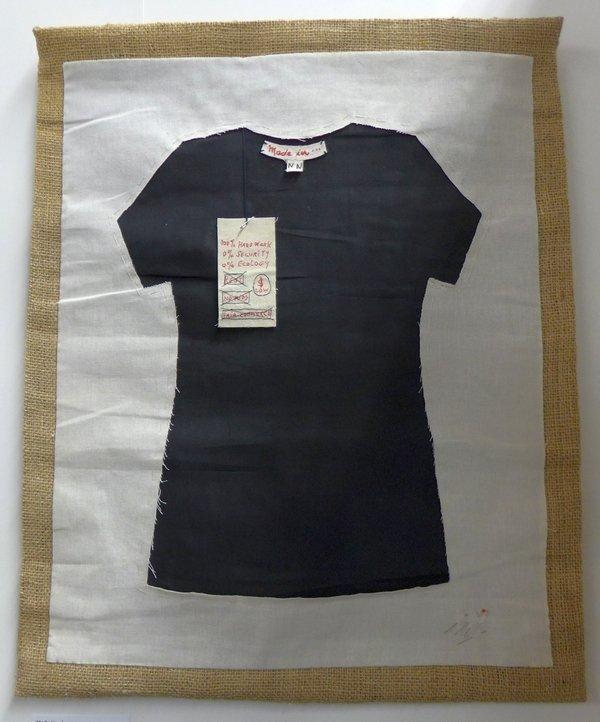 Ana Zlatkes (Argentinien): Made in ... Ausstellung 'Stoff zum Nachdenken'