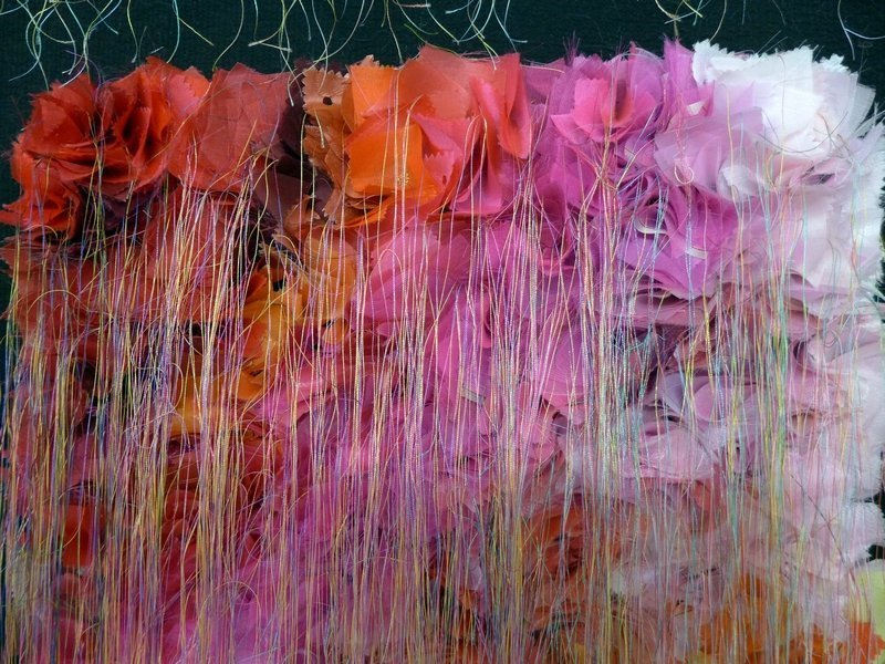 Lee Mikyeong: Color is ..., Detail Ausstellung von Südkorea