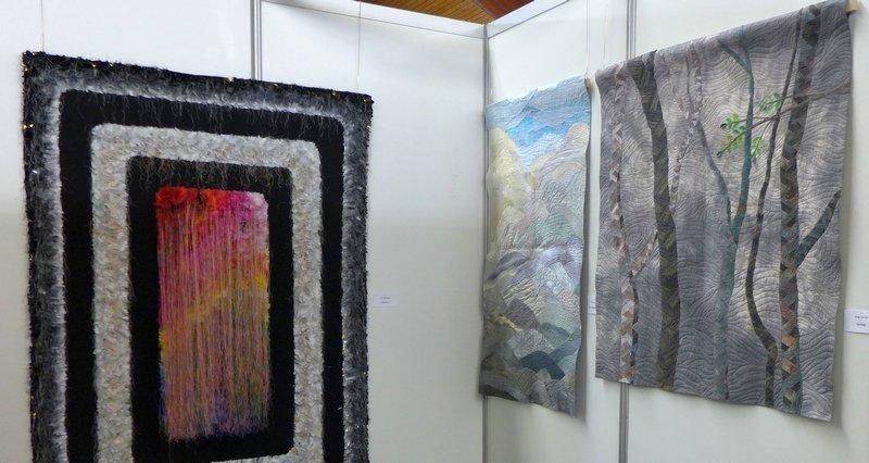Blick in die Ausstellung von Südkorea