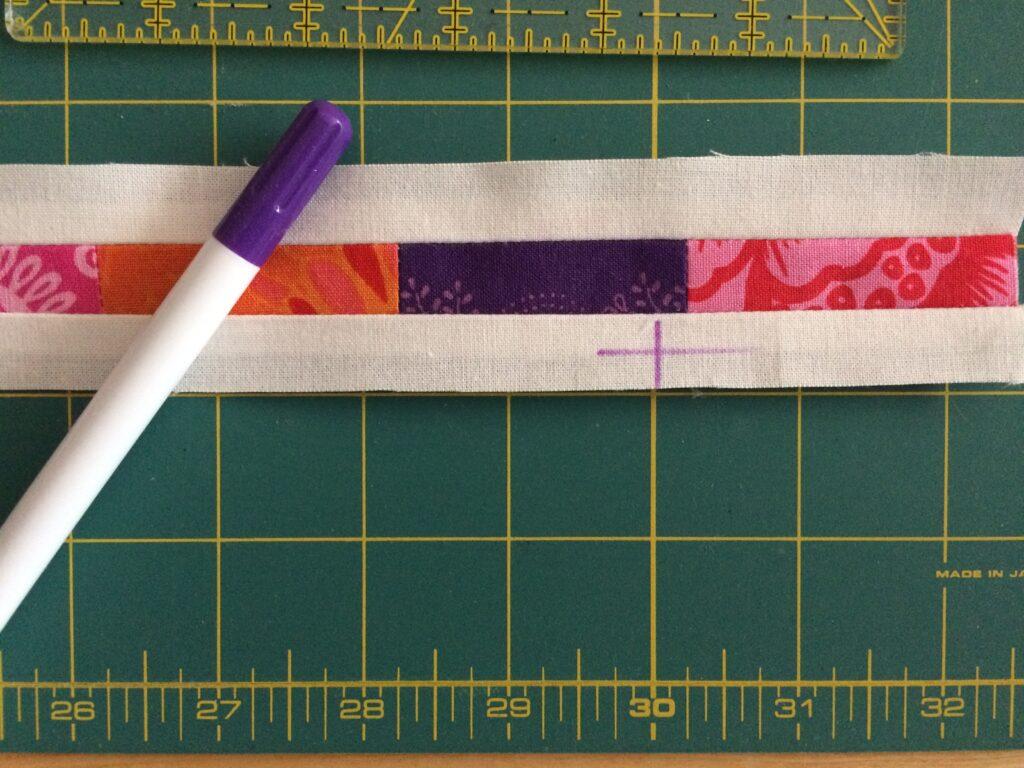 Quiltmanufaktur BERNINA Medaillon Quilt Along - 1. Zwischenborder (10)