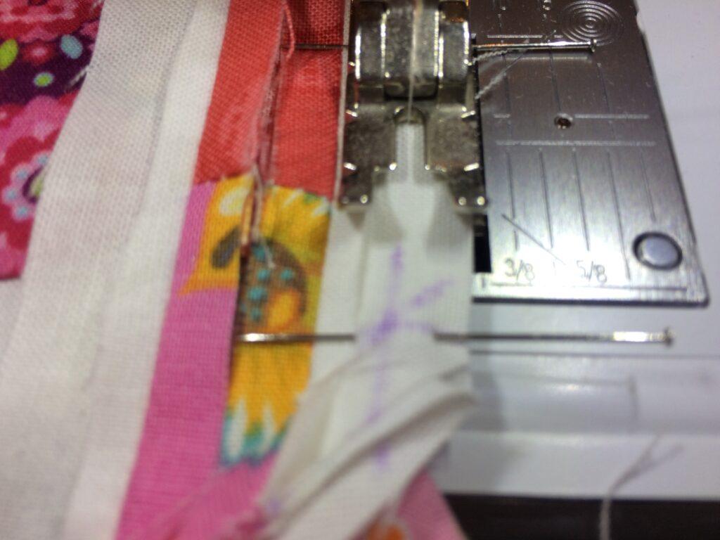 Quiltmanufaktur BERNINA Medaillon Quilt Along - 1. Zwischenborder (2)
