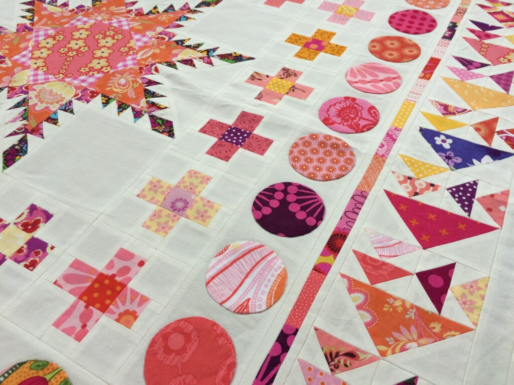 Quiltmanufaktur BERNINA Medaillon Quilt Along 3. Border -Zwischenborder (1)