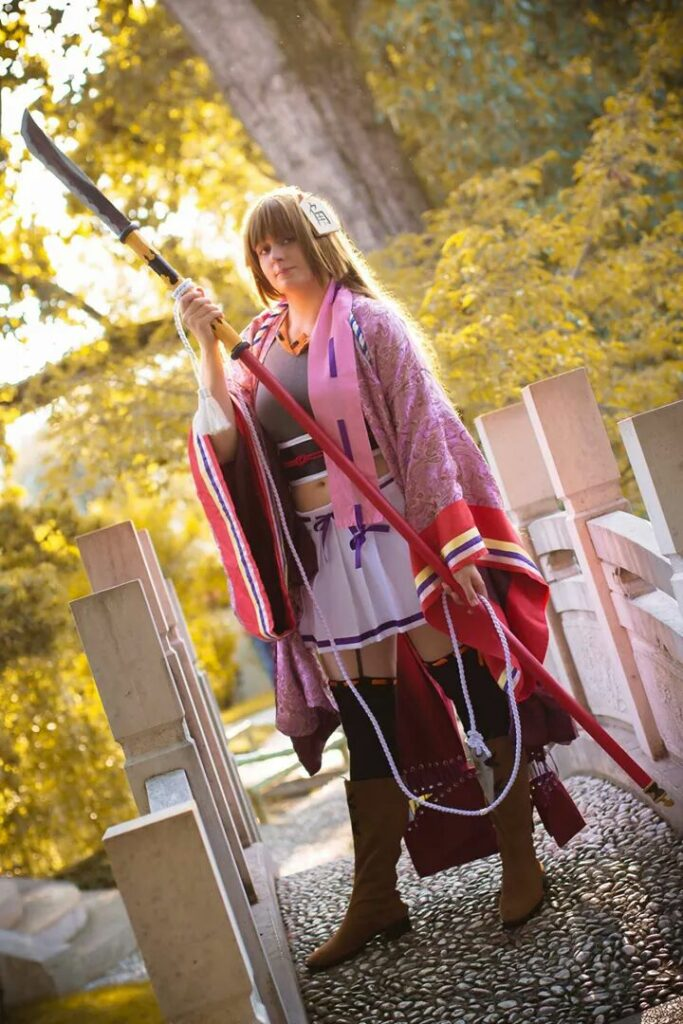 Tokugawa Sen - Samurai Girls - Azur Cosplay Photography
