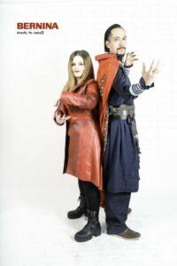 8 Dr. Strange & Scarlet Witch - Avengers