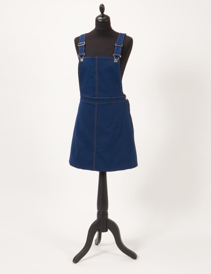 Denim, Darling! Free sewing pattern for the beautiful denim dress ...