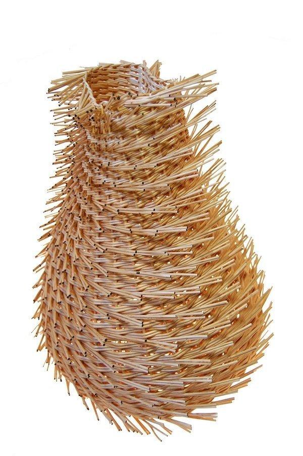 Diana Stegmann: Basket wave 6 Foto: © Diana Stegmann. Freundlicherweise vom Saarländischen Künstlerhaus zur Verfügung gestellt