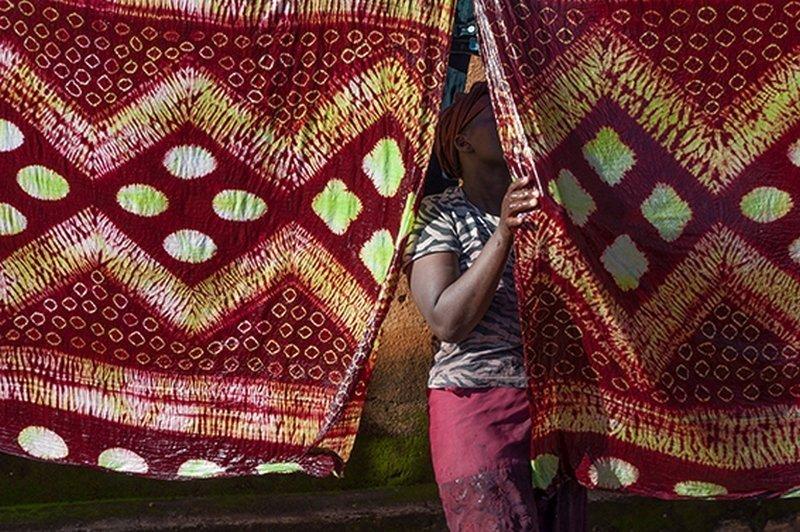 Fertig! Ausstellung 'Dames de Couleurs' Foto: Patricia Gérimont, freundlicherweise vom Veranstalter zur Verfügung gestellt