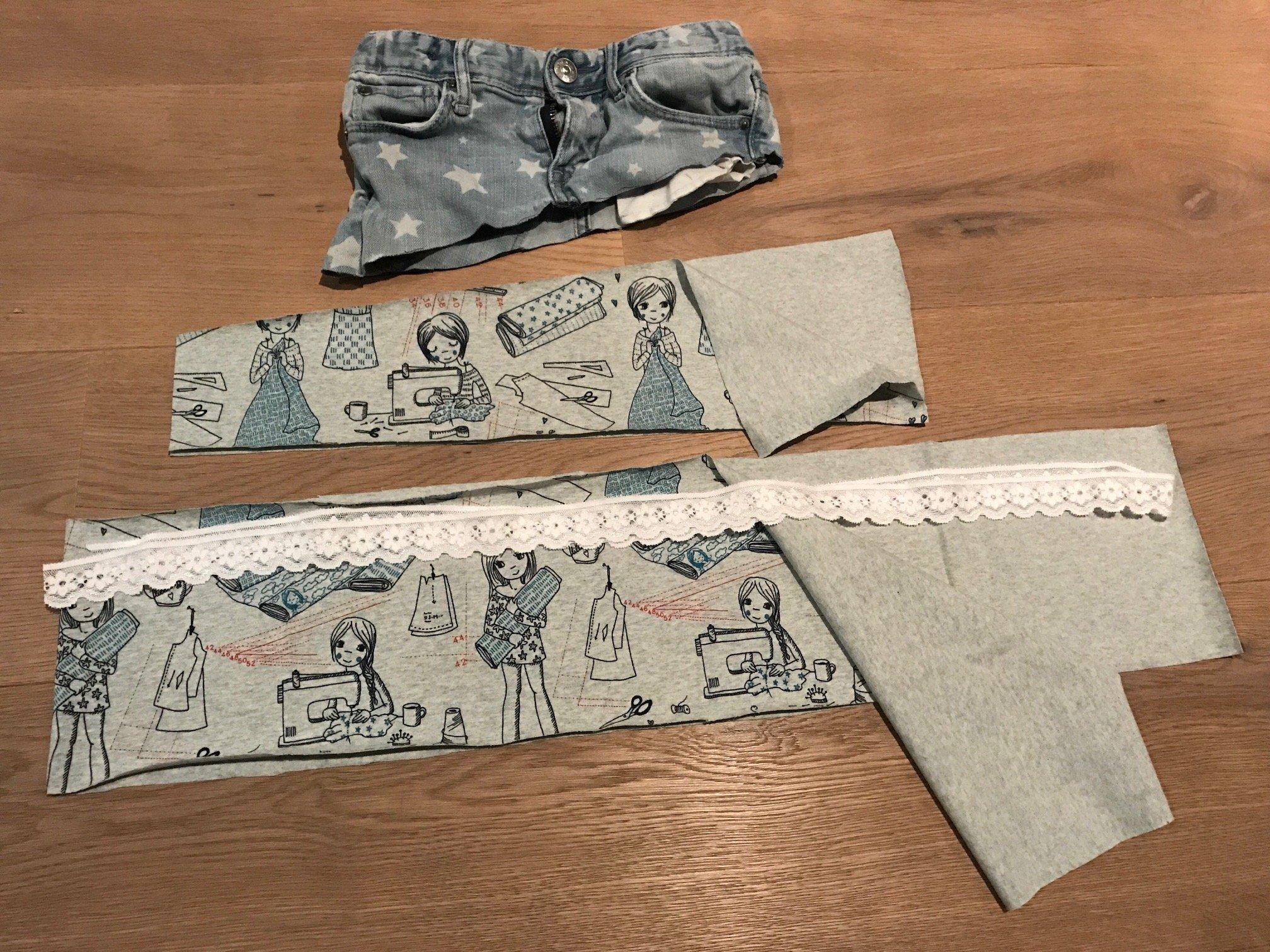 Aus Hose Mach Rock Upcycling Anleitung Für Eine Alte Jeans