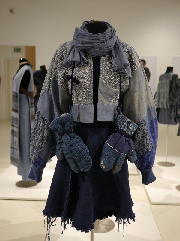 Ausstellungsansicht der Kollektion 'Boro - fabric of life' Foto freundlicherweise vom Museum zur Verfügung gestellt