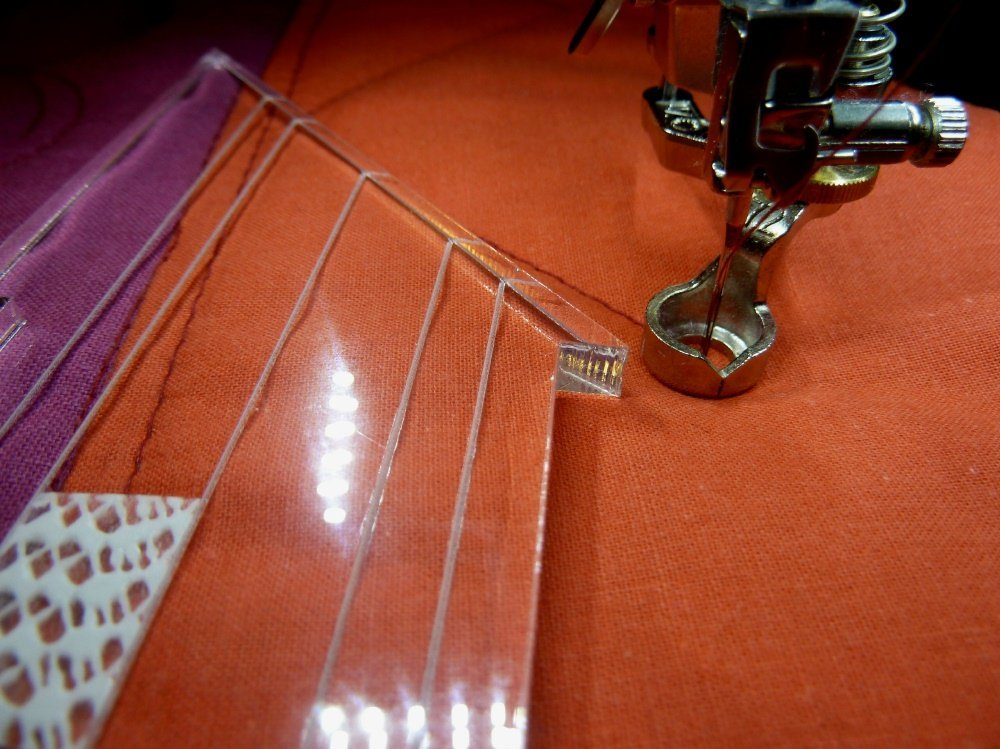 Nähanleitung für eine Rulerwork-Abdeckhaube