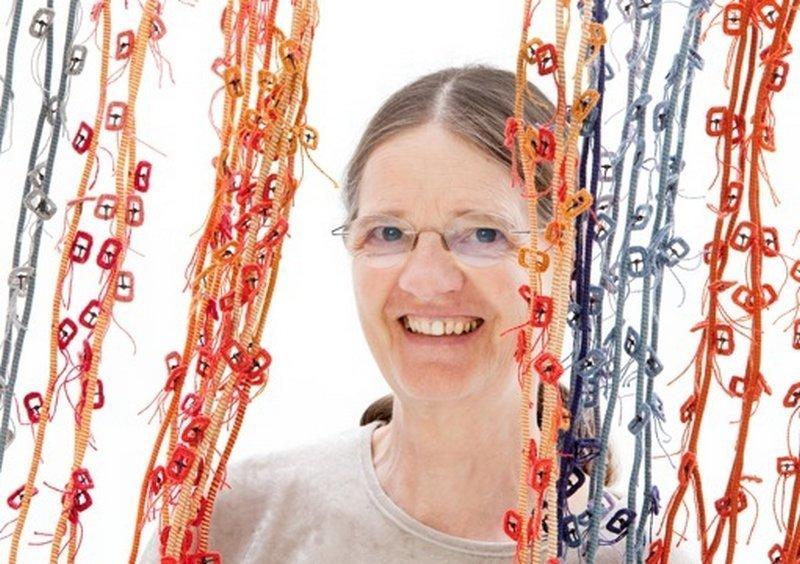 Rosmarie Artmann-Graf, Portrait Foto freundlicherweise von 'art textil sent' zur Verfügung gestellt
