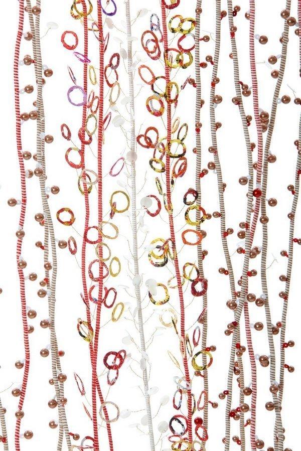 Rosmarie Artmann-Graf: Tautropfen der Liebe, Detail Foto freundlicherweise von 'art textil sent' zur Verfügung gestellt