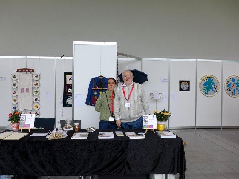 Gudrun Heinz & Sarah Schultz: Ausstellung 'MÄNNER' NADELWELT 2017