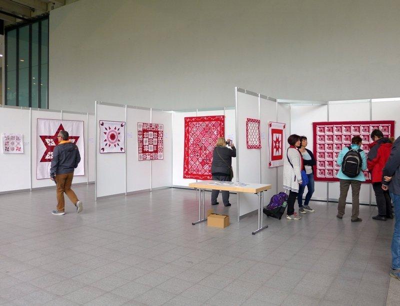 Ausstellung 'BERNINA Red & Whites' NADELWELT 2017