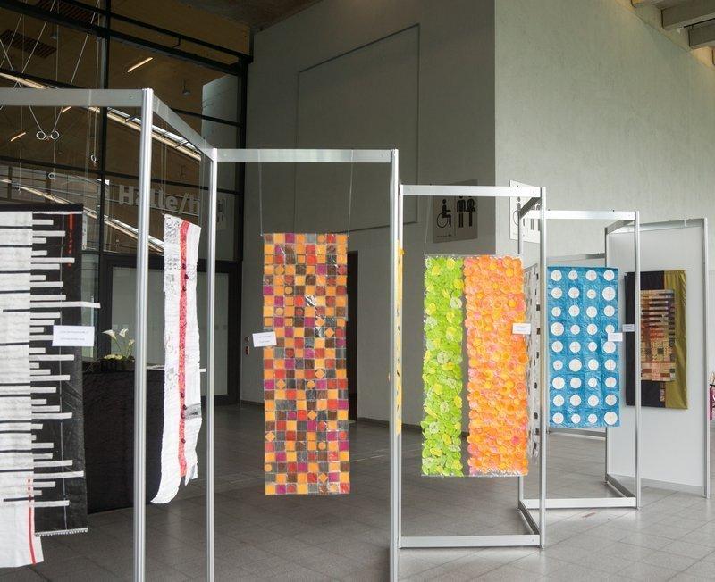 Modern Quilters Heilbronn: Ausstellung 'Upcycling Art' NADELWELT 2017