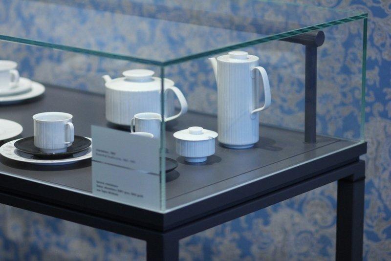 Ausstellung Wirkkala für Rosenthal Foto: Alex Lehn, freundlicherweise vom Museum zur Verfügung gestellt