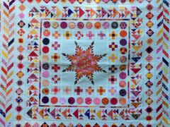 BERNINA Medaillon QAL - Herringbone Border - Andrea Kollath