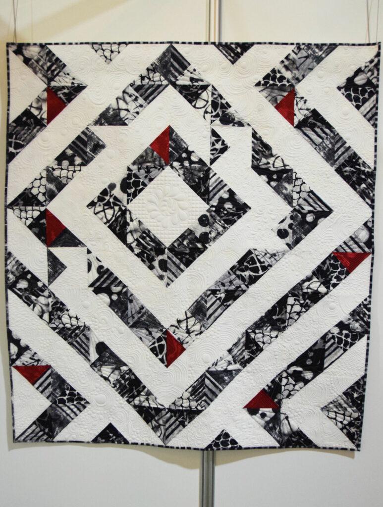 """""""Triangles and Textures"""" von Maria Dlugosch"""