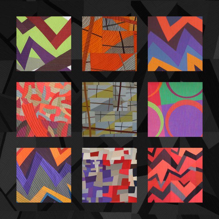 Erica Waaser: Memories Foto freundlicherweise von der Galerie Quilt Et Textilkunst zur Verfügung gestellt