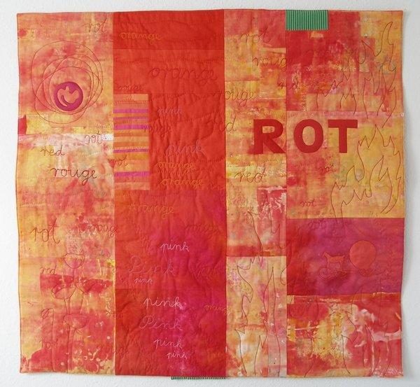 Christa Ebert: Rot Foto freundlicherweise von der Künstlerin zur Verfügung gestellt