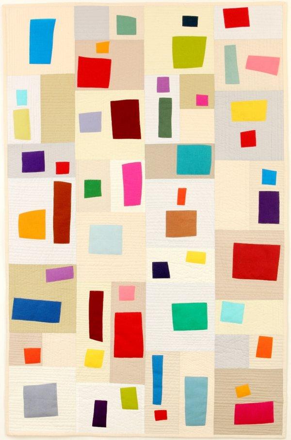 Cosabeth Parriod (Frankreich): Symetrie VIII 80 x 125 cm
