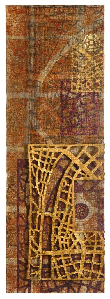 Eszter Bornemisza (Ungarn): Guessing Location 80 x 240 cm