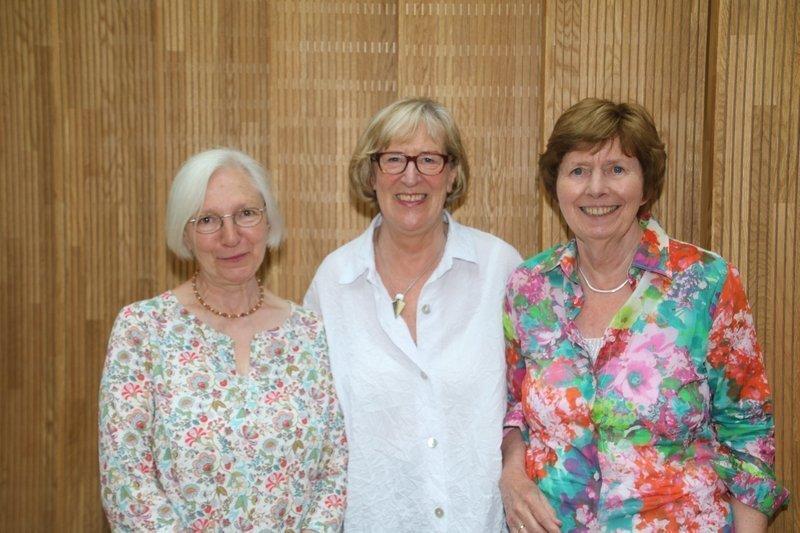 Heidemarie Mönkemeyer, Helene Fischer, Christa Ebert (v.l.n.r.) Foto freundlicherweise von den Künstlerinnen zur Verfügung gestellt