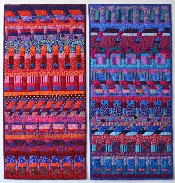 Maryline Collioud (Schweiz): Rhythms 90 x 95 cm